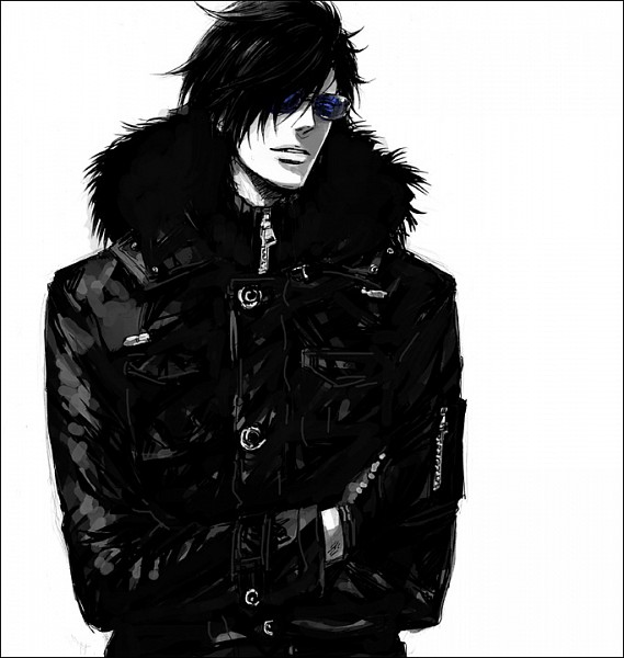 Tags: Anime, Kumonosuke, Sengoku Basara, Date Masamune (Sengoku Basara), Leather Jacket