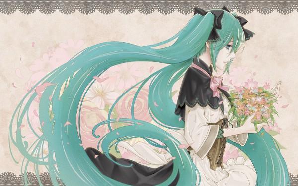 Tags: Anime, Kitano Tomotoshi, VOCALOID, Hatsune Miku, Daughter of White, Story of Evil, Akuno-p