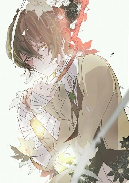 Tags: Anime, Pixiv Id 16319027, Bungou Stray Dogs, Dazai Osamu, Suicide, Noose, Bandaged Neck, Pixiv, Fanart, Mobile Wallpaper, Fanart From Pixiv