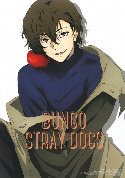 Tags: Anime, BONES (Studio), Bungou Stray Dogs, Bungou Stray Dogs: Dead Apple, Dazai Osamu, Scan, Spoon.2di, Shitajiki, Official Art, Magazine (Source)