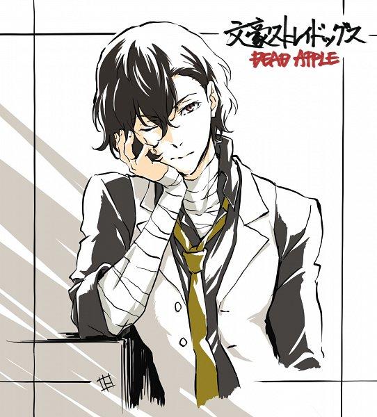 Tags: Anime, Tokuoka Kouhei, Bungou Stray Dogs, Bungou Stray Dogs: Dead Apple, Dazai Osamu, Twitter, Official Art