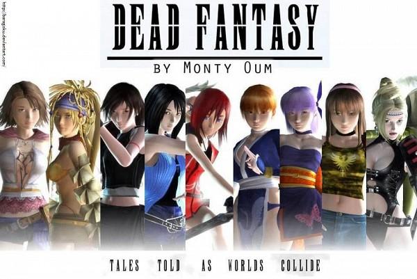 Tags: Anime, Monty Oum, SQUARE ENIX, Dead Fantasy, Ninja Gaiden, Final Fantasy X, Dead or Alive, Final Fantasy VIII, Final Fantasy VII, Kingdom Hearts, Kairi (Kingdom Hearts), Hitomi (Dead or Alive), Yuna