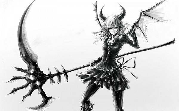 Tags: Anime, Black★Rock Shooter, Dead Master, Huge Weapon, Wallpaper