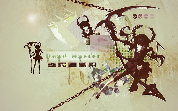 Tags: Anime, Niziro, Matsuo Yuusuke, Huke, Black★Rock Shooter, Dead Master, Huge Weapon, Wallpaper, deviantART