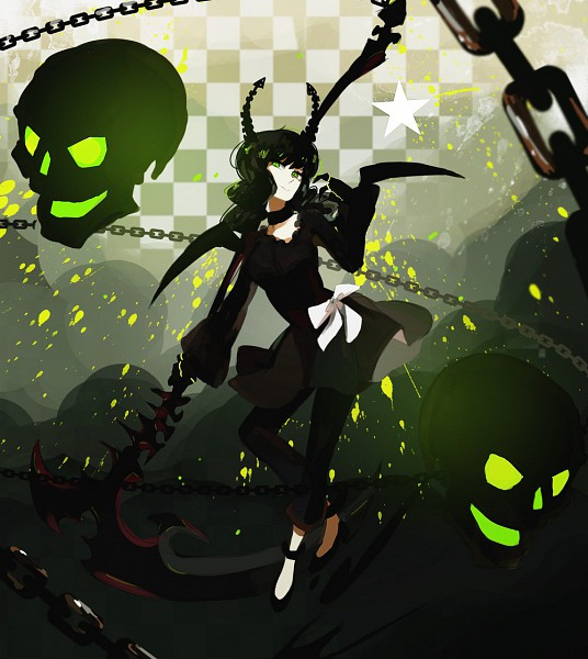 Tags: Anime, Black★Rock Shooter, Dead Master, Huge Weapon