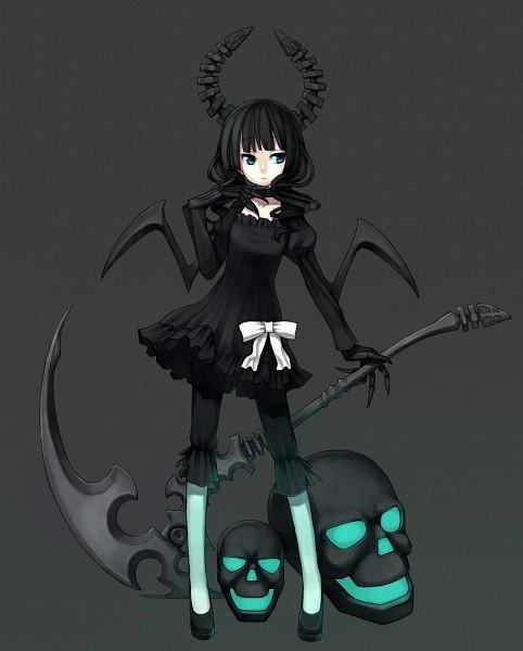 Tags: Anime, Cartamin, Black★Rock Shooter, Dead Master, Fanart, Pixiv