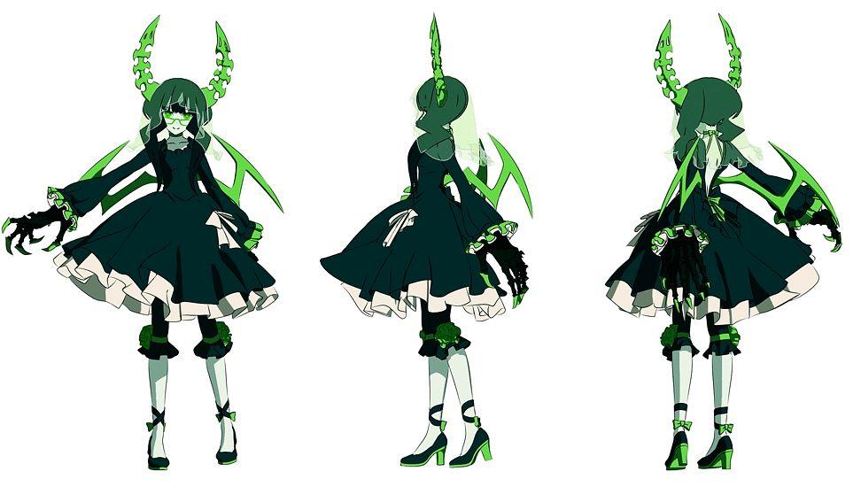 Tags: Anime, SANZIGEN, Black★Rock Shooter, Dead Master, Character Sheet, Facebook Cover, Official Art