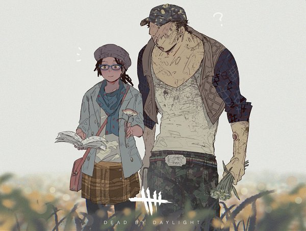 Tags: Anime, Sdfg3346s, Dead by Daylight, Claudette Morel, Max Thompson Jr., Twitter, Fanart