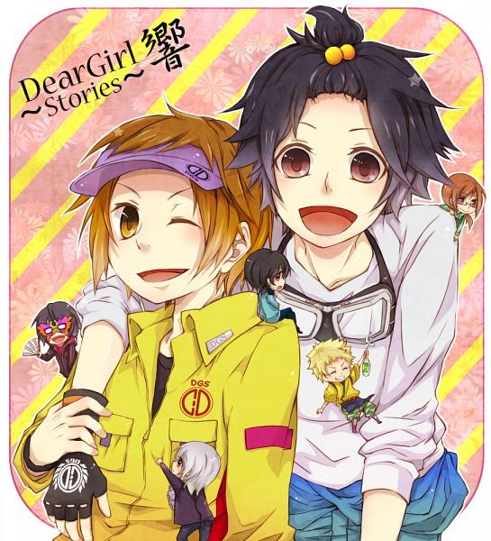Tags: Anime, Monokuro, Dear Girl ~stories~, Dear Girl - Stories - Hibiki, Yasumoto Hiroki (Character), Hiro C, Sugita Tomokazu (Character), Daigo, Ono D, Nakamura Yuuichi (Character), Junya (Dear Girl ~stories~), Ono Daisuke (Character), Ren (dgs Hibiki)