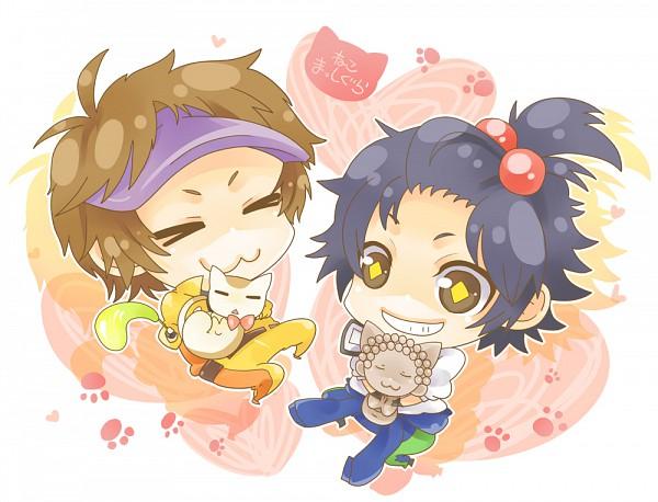 Tags: Anime, Guli, Dear Girl ~stories~, Dear Girl - Stories - Hibiki, Ono Daisuke (Character), Kamiya Hiroshi (Character), Hiro C, Ono D, Pixiv, Fanart