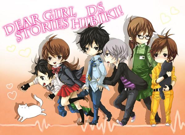 Tags: Anime, Masayosh (Pixiv634794), Dear Girl ~stories~, Dear Girl - Stories - Hibiki, Nakamura Yuuichi (Character), Ryo (dgs Hibiki), Kamiya Hiroshi (Character), Hiro C, Izumi (dgs Hibiki), Yasumoto Hiroki (Character), Junya (Dear Girl ~stories~), Sugita Tomokazu (Character), Ren (dgs Hibiki)