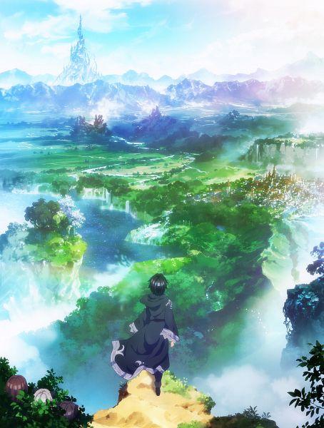 Tags: Anime, Silver Link, Death March kara Hajimaru Isekai Kyousoukyoku, Pochi Kishresgalza, Tama Kishresgalza, Liza Kishresgalza, Suzuki Ichirou, Lizard Person, Hiding, Official Art