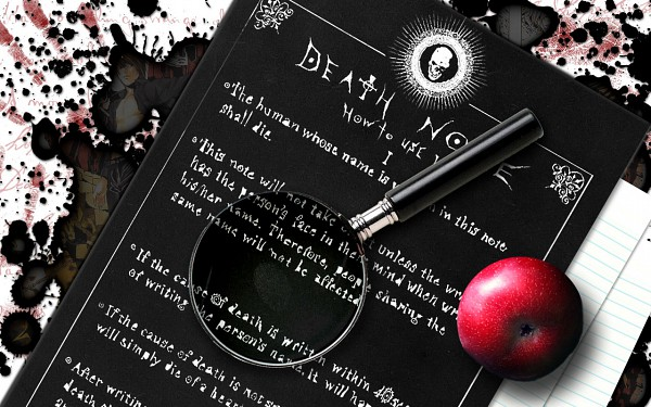 Death Note (Object) - DEATH NOTE