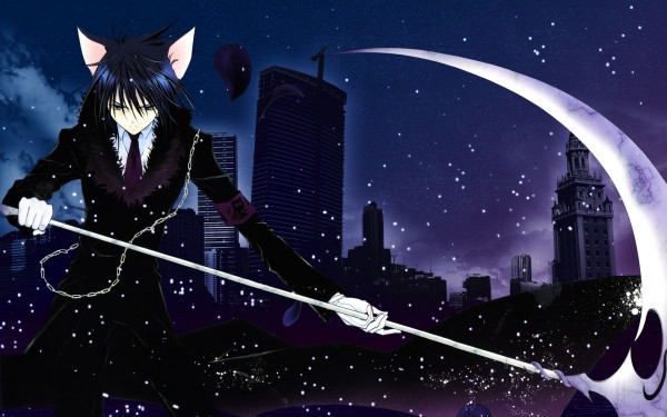 Tags: Anime, Shugo Chara!, Tsukiyomi Ikuto, Death Rebel, 1680x1050 Wallpaper, Wallpaper