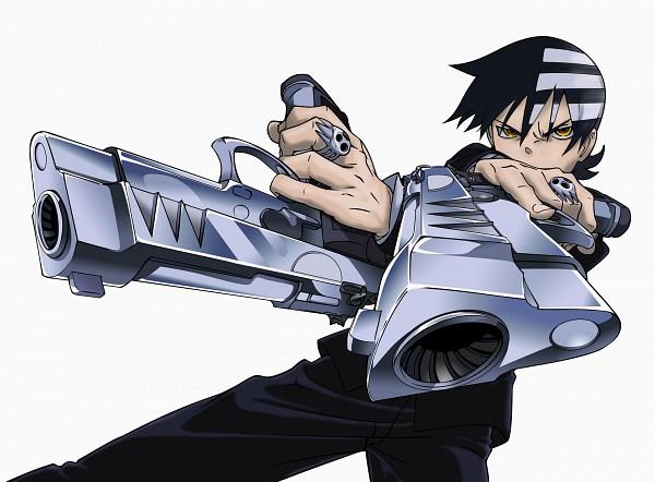 Tags: Anime, SQUARE ENIX, BONES (Studio), SOUL EATER, Death the Kid, Dual Guns, Official Art