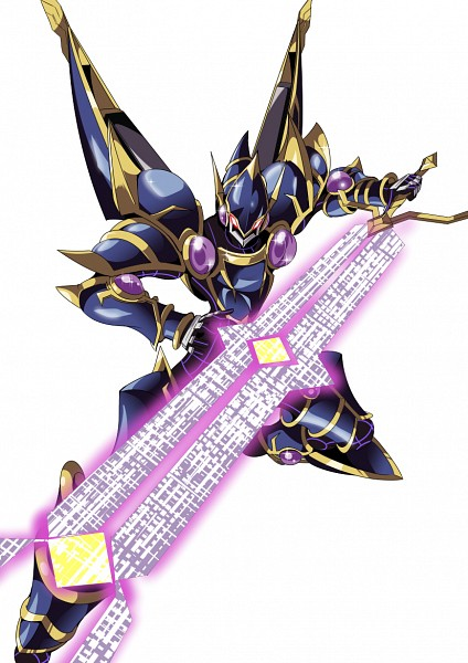 Tags: Anime, Pixiv Id 3898940, Yu-Gi-Oh! VRAINS, Yu-Gi-Oh!, Decode Talker, Purple Gem, Huge Weapon, Oversized Object, Fanart From Pixiv, Fanart, Mobile Wallpaper, Pixiv