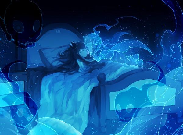 Tags: Anime, Pixiv Id 4154796, GriRea, Death Pater, Bedroom, Pixiv, Deep-Sea Prisoner