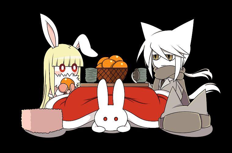 Tags: Anime, Pixiv Id 4258526, Totsusa Soldier, Botan (Mogeko), Snowf (Mogeko), Pixiv, Fanart, Deep-Sea Prisoner, Fanart From Pixiv