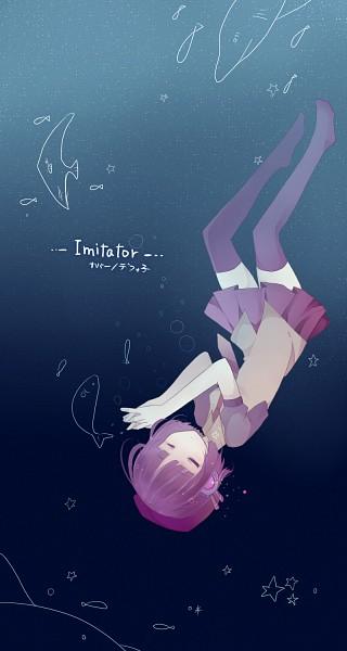 Tags: Anime, Makishimu, UTAU, Defoko, Mobile Wallpaper