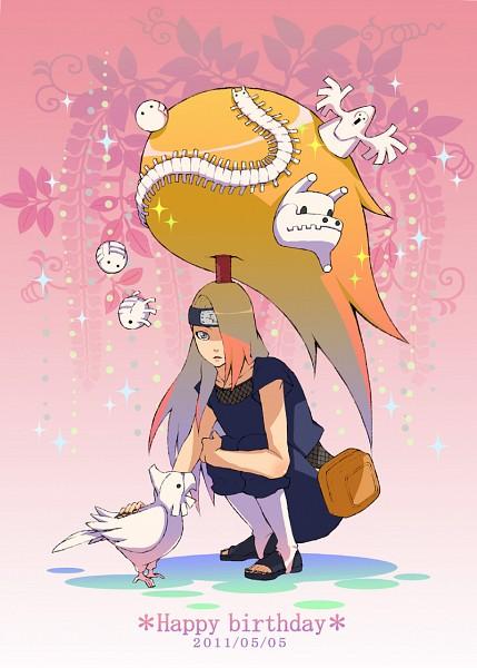 Tags: Anime, Pixiv Id 853095, NARUTO, Deidara, Mobile Wallpaper, Akatsuki (NARUTO)