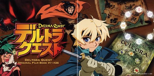 Tags: Anime, Deltora Quest, Barda, Filli, Kree, Jasmine (Deltora Quest), Lief, Map, Official Art, Scan, CD (Source)