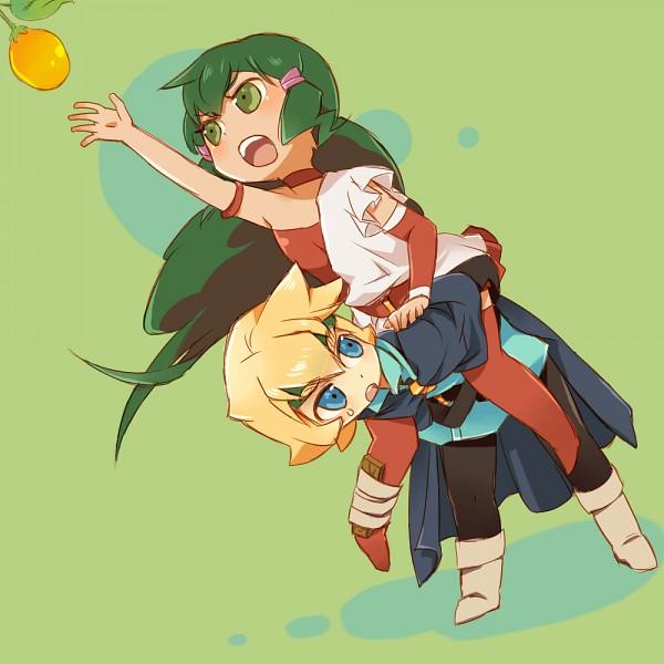Tags: Anime, Pixiv Id 5315449, Deltora Quest, Jasmine (Deltora Quest), Lief, Fanart From Pixiv, Pixiv, Fanart
