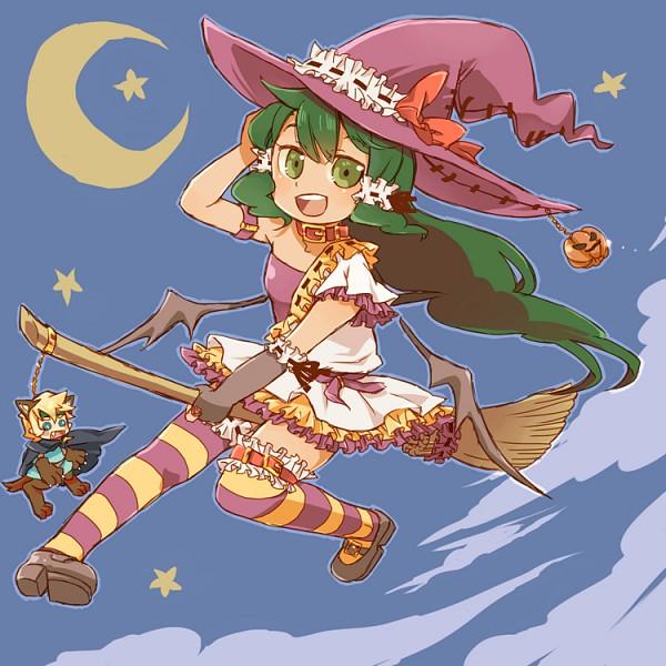 Tags: Anime, Pixiv Id 5315449, Deltora Quest, Jasmine (Deltora Quest), Lief, Asymmetrical Clothing, Fanart