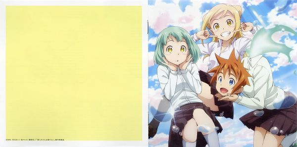 Tags: Anime, A-1 Pictures, Demi-chan wa Kataritai, Kusakabe Yuki (Demi-chan Wa Kataritai), Takanashi Hikari, Machi Kyouko, CD (Source), Official Art, Scan, Interviews With Monster Girls