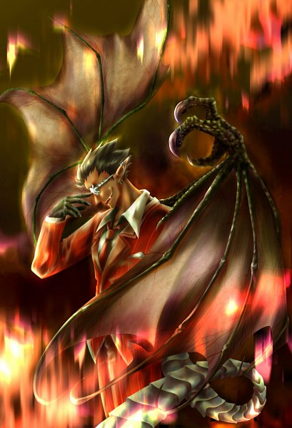 Tags: Anime, Pixiv Id 7067752, Overlord, Demiurge (Overlord)
