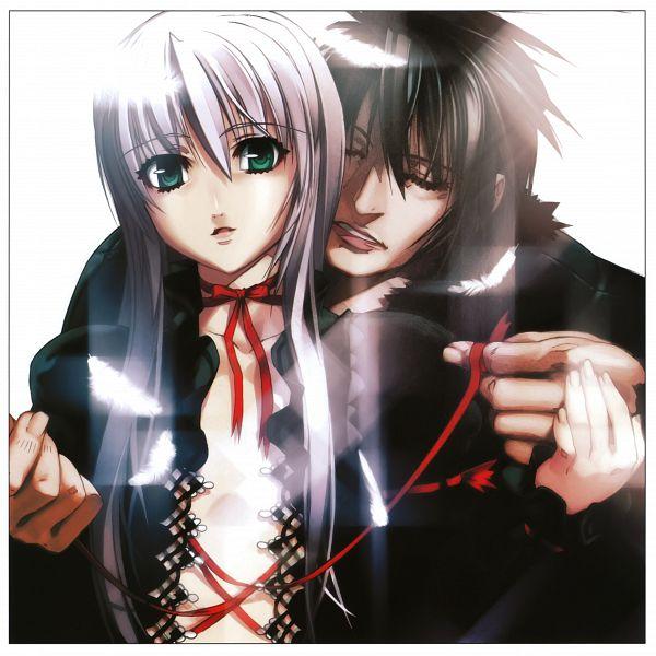 Tags: Anime, Niθ, Nitro+, Demonbane, Al-Azif, Daijuuji Kurou, Official Art
