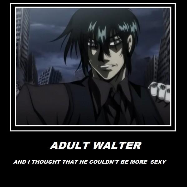 Tags: Anime, Geneon Pioneer, HELLSING, Walter C. Dornez, Demotivational Poster, Screenshot