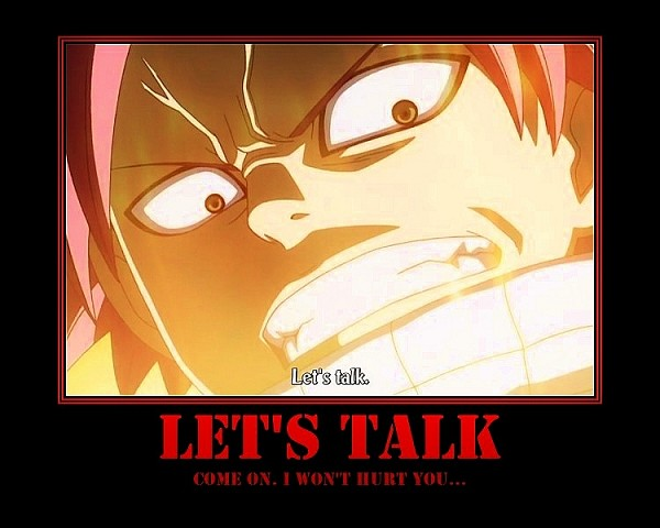 Tags: Anime, FAIRY TAIL, Natsu Dragneel, Demotivational Poster