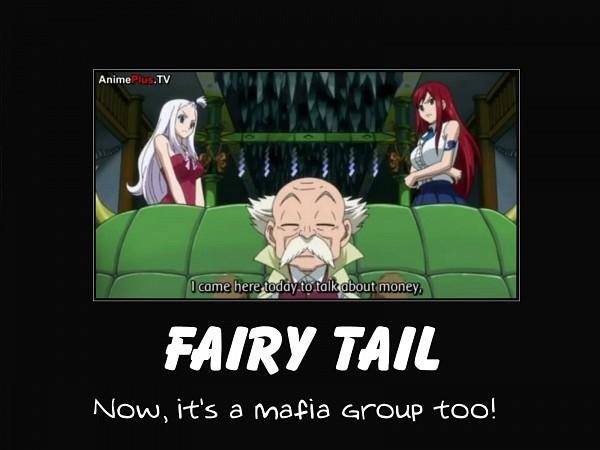 Tags: Anime, FAIRY TAIL, Mirajane Strauss, Erza Scarlet, Makarov Dreyar, Screenshot, Demotivational Poster