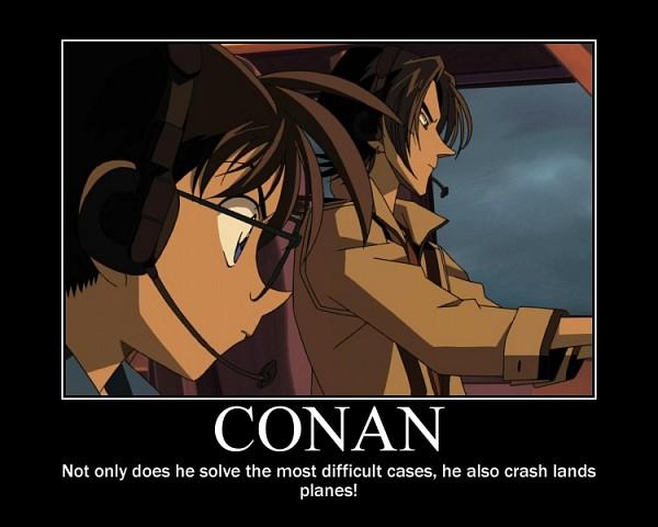 Tags: Anime, TMS Entertainment, Meitantei Conan, Magic Kaito, Kaitou Kid, Edogawa Conan, Kuroba Kaito, Disguise, Demotivational Poster, Screenshot, deviantART