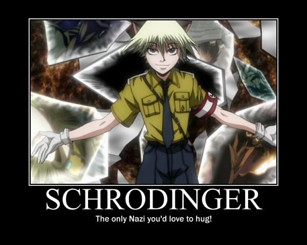 Tags: Anime, HELLSING, Schrödinger, Swastika, Screenshot, Demotivational Poster