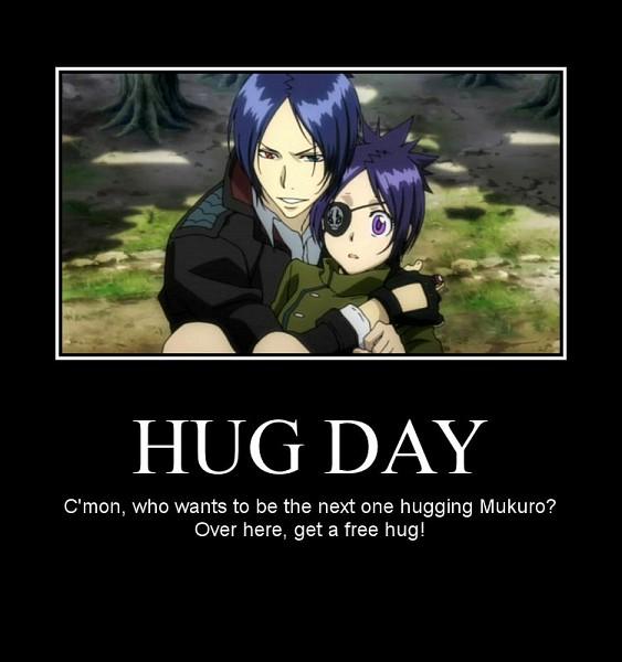 Tags: Anime, Katekyo Hitman REBORN!, Rokudou Mukuro, Chrome Dokuro, Screenshot, Demotivational Poster