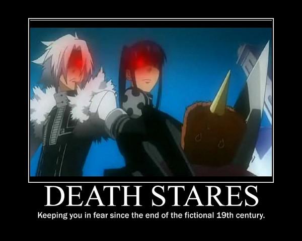 Tags: Anime, D.Gray-man, Allen Walker, Lero, Kanda Yuu, Demotivational Poster, deviantART, Screenshot