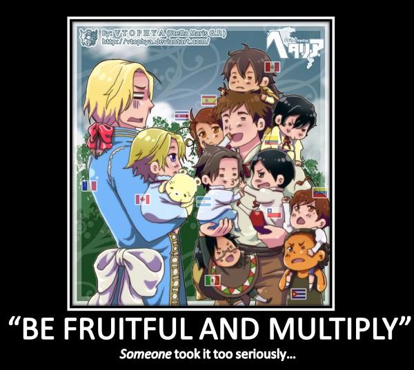 Tags: Anime, Vtophya, Axis Powers: Hetalia, Colombia, Argentina, Costa Rica, Canada, Venezuela, Spain, Cuba, Lithuania, Chile, Mexico