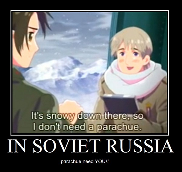 Tags: Anime, Kannan Masaaki, Axis Powers: Hetalia, China, Russia, Demotivational Poster, Soviet Union, Allied Forces, Asian Countries