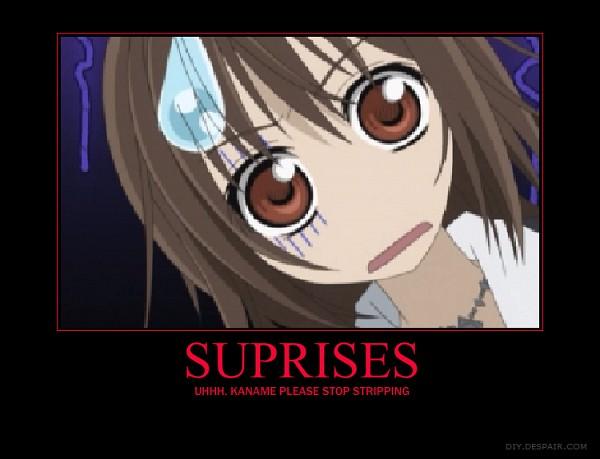 Tags: Anime, Vampire Knight, Yuki Cross, Demotivational Poster