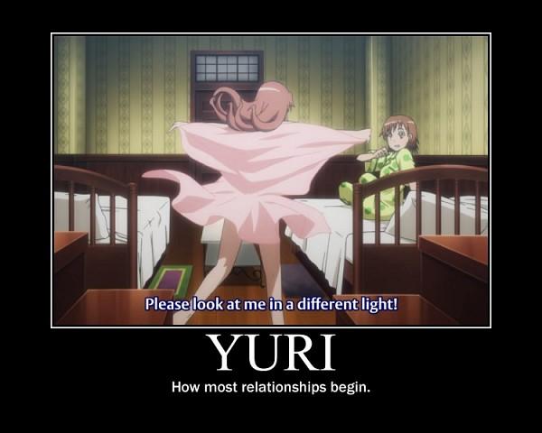 Tags: Anime, To Aru Majutsu no Index, Shirai Kuroko, Misaka Mikoto, Subtitled, Bedroom, Screenshot, Demotivational Poster