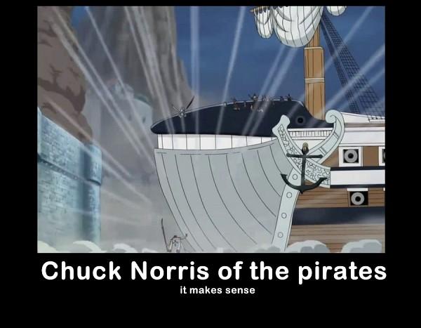 Tags: Anime, ONE PIECE, Chuck Norris, Whitebeard, Demotivational Poster, Screenshot, Whitebeard Pirates