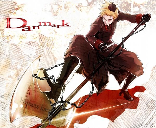 Tags: Anime, Axis Powers: Hetalia, Denmark, Garrison Cap, Pixiv, Nordic Countries