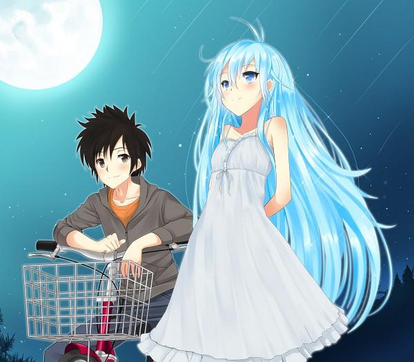 Tags: Anime, Masamuuu, Denpa Onna to Seishun Otoko, Touwa Erio, Niwa Makoto, Ground Control To Psychoelectric Girl