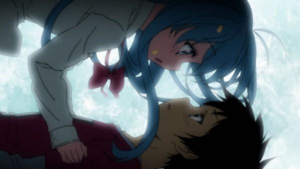 Tags: Anime, Denpa Onna to Seishun Otoko, Niwa Makoto, Touwa Erio, Screenshot, Ground Control To Psychoelectric Girl