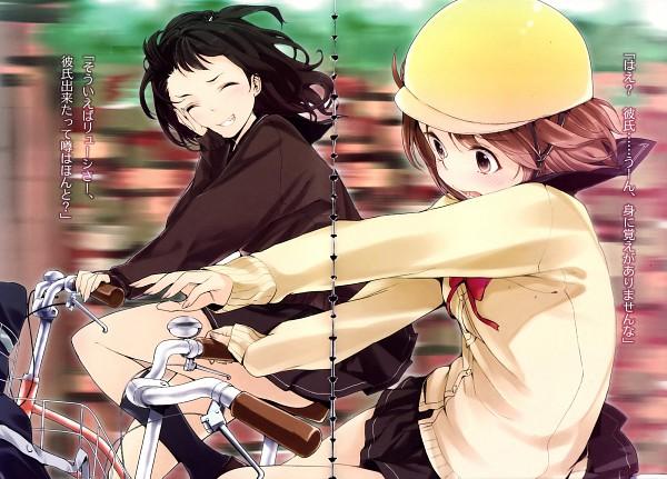 Tags: Anime, Buriki, Denpa Onna to Seishun Otoko, Mifune Ryuuko, Character Request, Official Art, Novel Illustration, Ground Control To Psychoelectric Girl