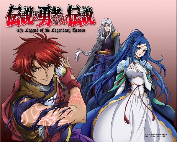 Tags: Anime, ZEXCS, Densetsu no Yuusha no Densetsu, Sion Astal, Noa En, Ryner Lute, Claugh Klom, Official Art