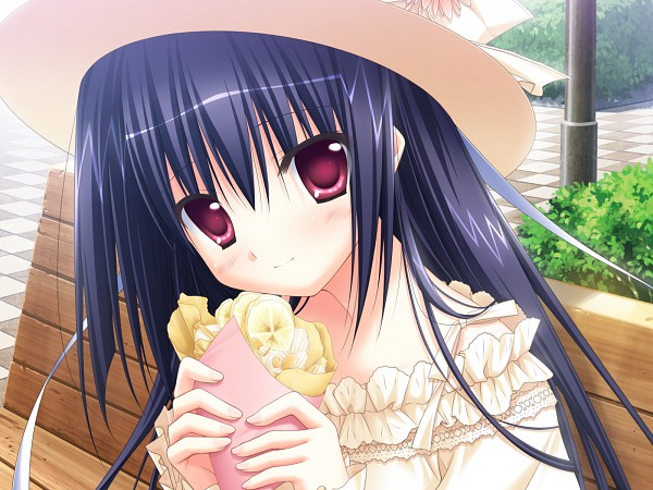 Tags: Anime, Parasol (Studio), Derivara!, Pancakes, Park, Official Art