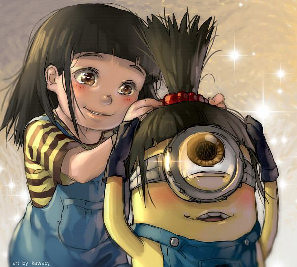 Tags: Anime, kawacy, Despicable Me, Minion (Despicable Me), Fanart From Pixiv, Character Request, deviantART, Fanart From DeviantART, Pixiv, Fanart