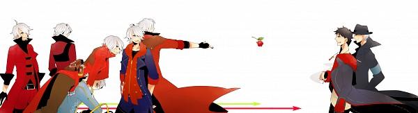 Tags: Anime, Pixiv Id 2968921, Ninja Theory, Devil May Cry 1, Devil May Cry 2, DmC: Devil May Cry, Devil May Cry 4, Devil May Cry 3, Devil May Cry, Dante (Ninja Theory), Vergil (Ninja Theory), Vergil (Devil May Cry), Dante (Devil May Cry)